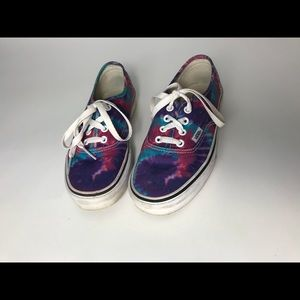 Tye-Dye Purple Blue Pink VANS